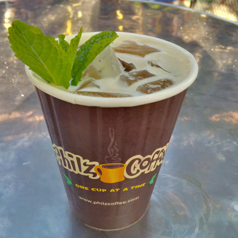 Philz Coffee's Mint Mojito Ice Coffee