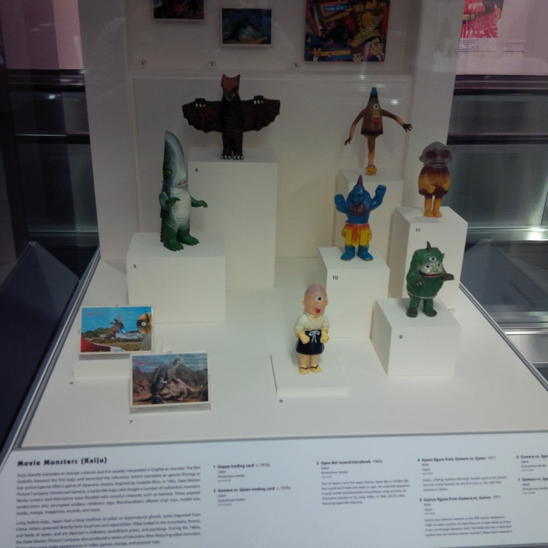 SFO Exhibit - Japanese Toys! Kaiju