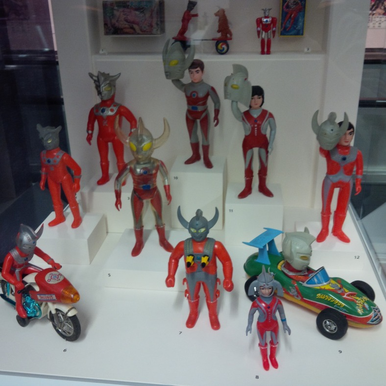 SFO Exhibit - Japanese Toys! Ultraman